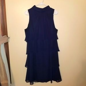 Jessica Howard Navy Blue Dress. Size 14